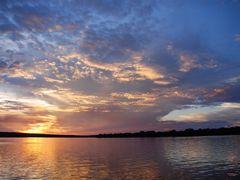 African sunset, Zambezi by <b>kristine hannon</b> ( a Panoramio image )