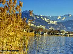 Herrlicher Wintertag  Stansstad Richtung Buochserhorn und Brisen by <b>Ruedi ?(?o?)</b> ( a Panoramio image )