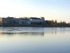 Kemijoki ja Jatkankynttila, Rovaniemi by <b>MalasAr</b> ( a Panoramio image )