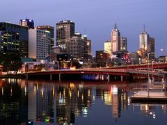 Melbourne city Lights,RosinaLamberti by <b>rosina lamberti</b> ( a Panoramio image )