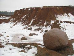Карьер в поселке Чисть. Quarry in the village Chist. by <b>alex26856</b> ( a Panoramio image )