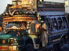 Peshawar   Bling-Bling Bus by <b>zerega</b> ( a Panoramio image )