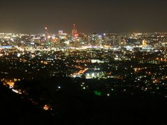 Brisbane Evening from Mount Coot-tha by <b>Ian Stehbens</b> ( a Panoramio image )
