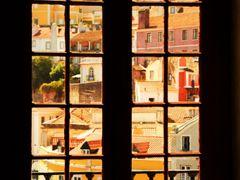 Sintra - Vista da cidade a partir da janela do Palacio Nacional  by <b>Christos Theodorou</b> ( a Panoramio image )