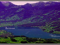 Sarnersee vom Acherli gesehen by <b>Ruedi ?(?o?)</b> ( a Panoramio image )
