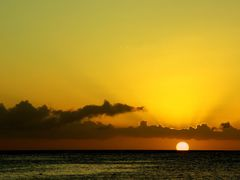 Caribbean Sunset, Grote Knip/ Curacao, January 12 2014 by <b>Jens ||?AE¬OE?Щ|| Germany</b> ( a Panoramio image )