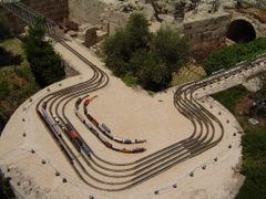 """Jerusalem, a trains"""" exhibition Tower of David  5,  Israel by <b>Kobi Zilberstein</b> ( a Panoramio image )"""