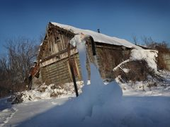 Frozen water fountain in Zaborovka village by <b>IPAAT</b> ( a Panoramio image )