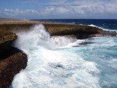 Rough coast, Shete Boka National Park/ Curacao, January 10 2014  by <b>Jens ||?AE¬OE?Щ|| Germany</b> ( a Panoramio image )