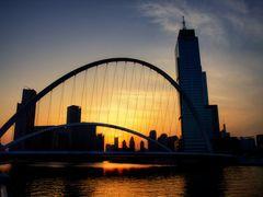 Dagu Bridge @ Sunset by <b>ChiefTech</b> ( a Panoramio image )