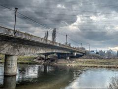 Pod peste Somesul Mic, la iesirea din Grigorescu by <b>LuFotoCJ</b> ( a Panoramio image )