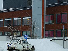 Deux Chevaux, Rovaniemi, Fin. by <b>Pom-Panoramio? YES !</b> ( a Panoramio image )