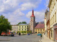 Kraliky - centrum (Velke namesti) by <b>valsoraj</b> ( a Panoramio image )