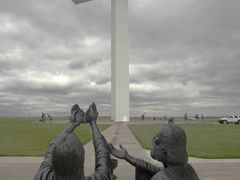 2nd Largest Cross In North America, Groom, Texas by <b>Bob Engelbart</b> ( a Panoramio image )
