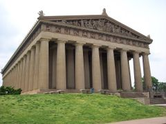 Nashville- Tenn- The Parthenon-1897 (original structure) 1925–19 by <b>cheets99</b> ( a Panoramio image )