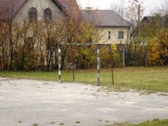 Boisko szkolne Szkola Podstawowa nr4 by <b>mico23@wp.pl</b> ( a Panoramio image )
