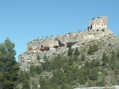 Vista Oeste del Castillo de Benizar by <b>eurojuancho</b> ( a Panoramio image )