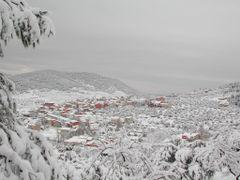Panoramica de Benizar Nevado desde el Castillo by <b>eurojuancho</b> ( a Panoramio image )