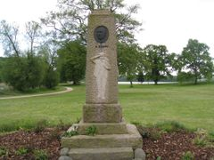 Monument for A. Blom 1917. Skanderborg by <b>-HARMONSA-</b> ( a Panoramio image )