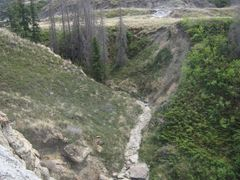 Along A Steep Gulley - Adventures In Horseshoe Canyon Near Drumh by <b>David Cure-Hryciuk</b> ( a Panoramio image )
