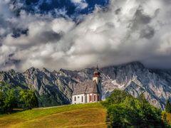 Hl. Nikolaus, Pfarrkirche Dienten am Hochkonig by <b>Reiner Vogeley</b> ( a Panoramio image )