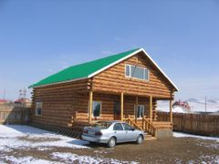 Chinba`s residence by <b>chinbaa333</b> ( a Panoramio image )