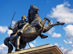 КРАЉ И ГОЛУБ НА КОЊУ - King and pigeon on horseback by <b>tosa43</b> ( a Panoramio image )