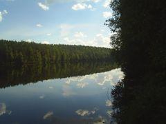Lake Vilchinia by <b>Dzmitry Ht.</b> ( a Panoramio image )