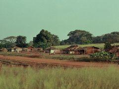 Village in CAR (1989) by <b>SixtusDahastus</b> ( a Panoramio image )