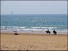 Sidi Kaouki- beach. by <b>Sharkipro.</b> ( a Panoramio image )