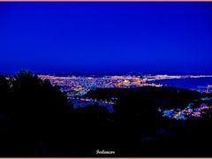 La  noche  cae  sobre  la  Bahia  de  Palma(f) by <b>Ferlancor Pano Yes</b> ( a Panoramio image )