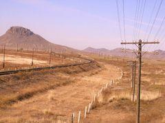 Dznharaa, rail track by <b>Bendenschneider</b> ( a Panoramio image )