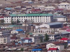 High school of Ulaangom by <b>Nyamdorj</b> ( a Panoramio image )