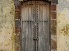Door to the old jail by <b>Marilyn Whiteley</b> ( a Panoramio image )