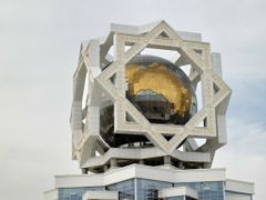 Ashgabat - Il mappamondo piu grande del mondo - Turkmenistan by <b>Oliviero Masseroli</b> ( a Panoramio image )