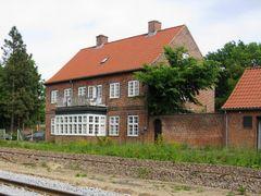 Former Railway Station, Stilling, Denmark, by <b>-HARMONSA-</b> ( a Panoramio image )