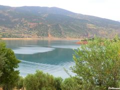 Bin el Ouidane Dam by <b>elakramine</b> ( a Panoramio image )