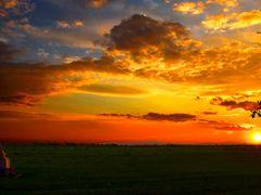 Степной закат. by <b>veet_u</b> ( a Panoramio image )