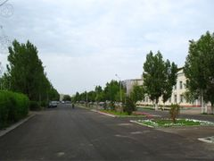 newly built road in Kyzylorda by <b>arle</b> ( a Panoramio image )