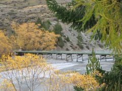 Cass River Bridge, Godley Peaks Station by <b>Charles Jarvie</b> ( a Panoramio image )