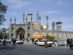 "Shrine of Fatima al-Ma""suma, Qom by <b>Prof. Richard T. Mortel</b> ( a Panoramio image )"