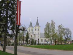 Catholic Church on Atbrivoshanas Alley in Rezekne by <b>vipe</b> ( a Panoramio image )