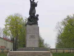 Monument of Latgalian Mara by <b>vipe</b> ( a Panoramio image )