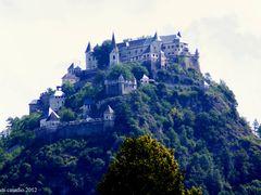 Austria.. castello di Hochosterwitz. by <b>Giovanni Casadio</b> ( a Panoramio image )
