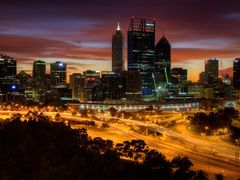 Perth City by <b>S?ren Terp</b> ( a Panoramio image )
