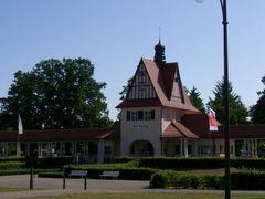 Germany_Brandenburg Country_Bad Saarow_railway station_100_1656 by <b>George Charleston</b> ( a Panoramio image )