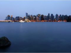 Skyline of Vancouver by <b>Sven Goelles</b> ( a Panoramio image )
