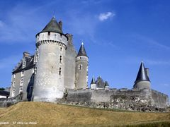 37 Cere-la-Ronde - Montpoupon Chateau (2001) by <b>H. Rebours</b> ( a Panoramio image )