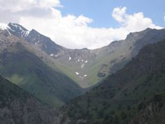 Abshir Pass (view from Kapchagay) by <b>igor_alay</b> ( a Panoramio image )