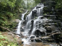 Sylvia Falls in mist by <b>Steve Bennett</b> ( a Panoramio image )
